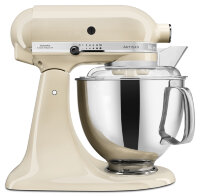 Миксер KitchenAid Artisan 4.8л, кремовый