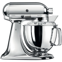 Миксер KitchenAid Artisan 4.8л, хром